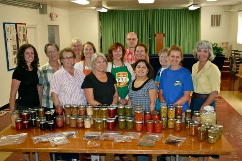 Sher's 2013 Master Food Preserver class. The course was eight weeks long and we spent lots of time in the kitchen canning.