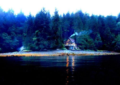 Our Wizard's Cottage in Southeast Alaska