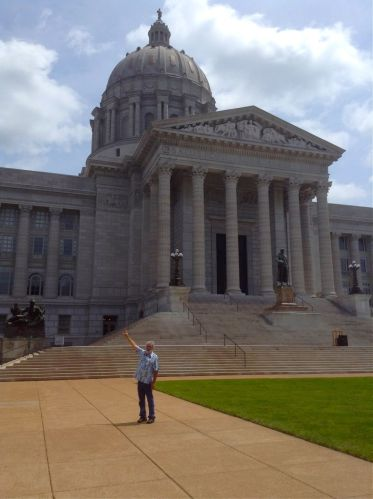 Jefferson City, Missouri, Capitol of Missouri.